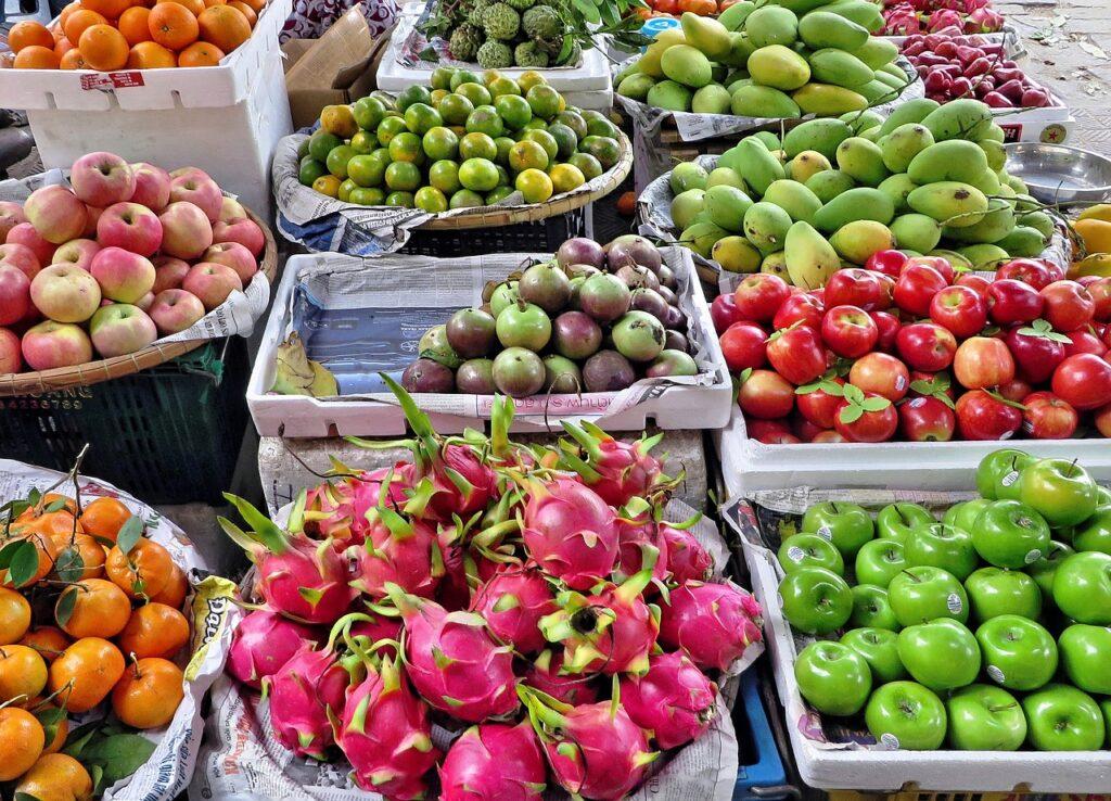 ベトナムの南国フルーツ